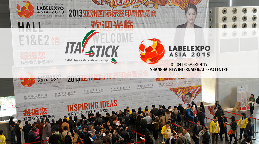 Italstick a Labelexpo Asia 2015